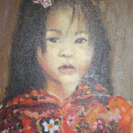 Painting: Childs Portrait