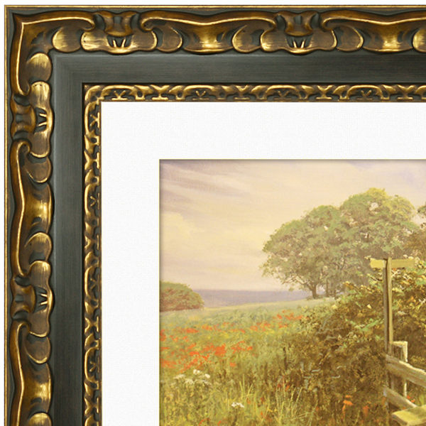 Picture Frame - Black-Gold Ornate