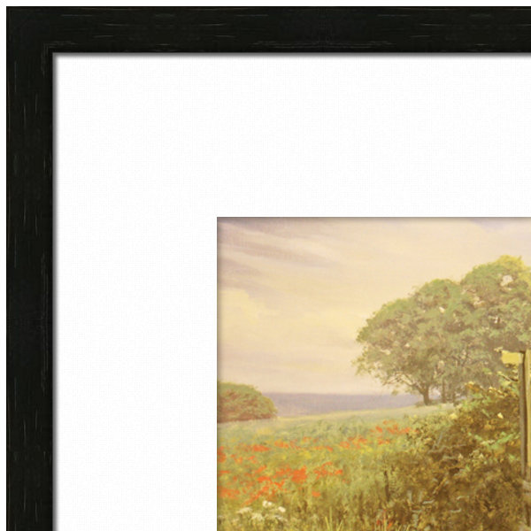 Picture Frame - Black Wood