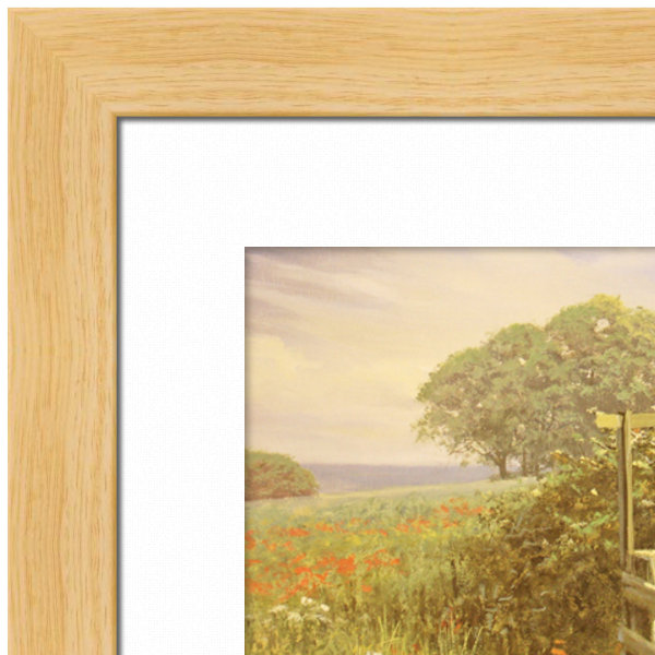 Picture Frame - Light Wood