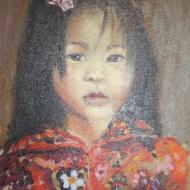 Painting: Childs Portrait