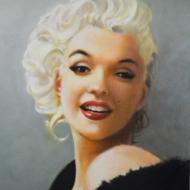 Painting: Marilyn Monroe
